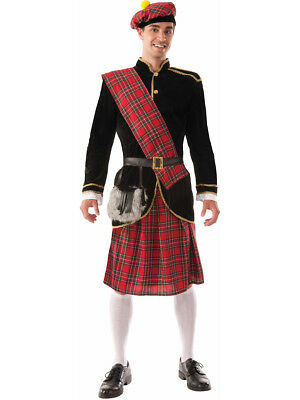 The Scotsman - Red Kilt Irish Adult Costume ](Scotsman Costume)
