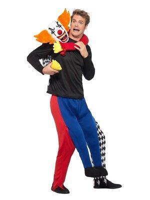Smi - Herren Huckepack Kostüm Horror Kidnapper Clown -