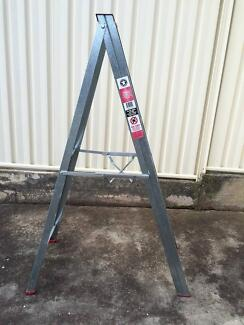 Galvenised 6 step ladder Highbury Tea Tree Gully Area Preview