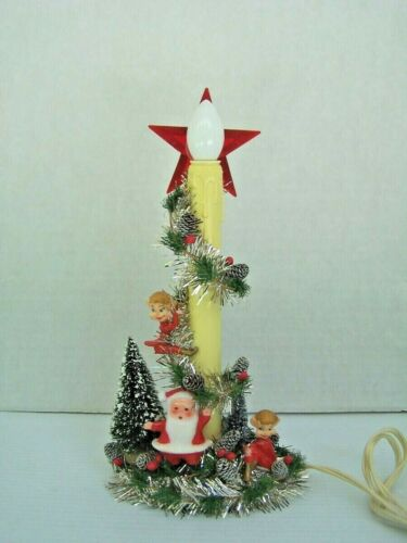 Vintage Christmas 1-light Candolier Decorated