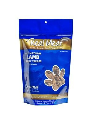 Real Meat Treats - Jerky Dog Treats - 12 oz. Lamb Flavor