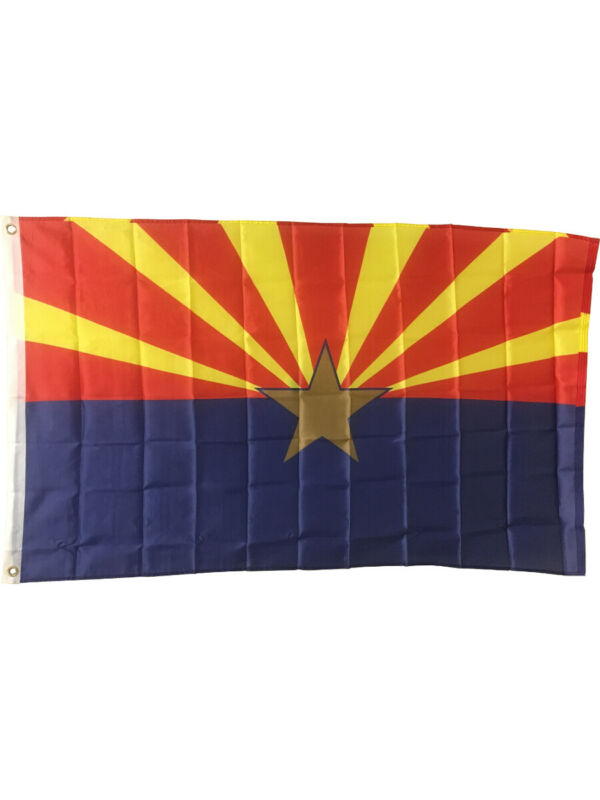 Large New 3x5 Arizona State Flag US USA American Flags