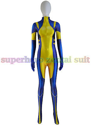 Cool Wolverine X-men Superheo Costume Lycra Spandex For Cosplay Halloween - Cool Superhero Suits
