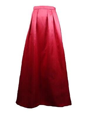 Xscape Women's Pocket Taffeta Full Length Taffeta Skirt 2, Coral