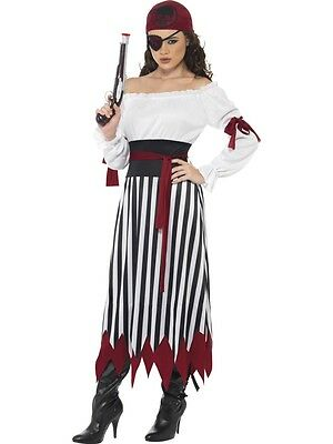Pirate Lady Buccaneer Swashbuckler Adult Costume