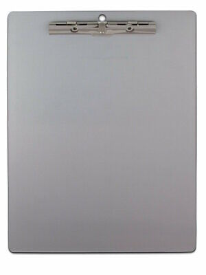 Saunders 11517 Aluminum Clipboard 8.5 X 12 Inch With Serrated Clip Recycled New