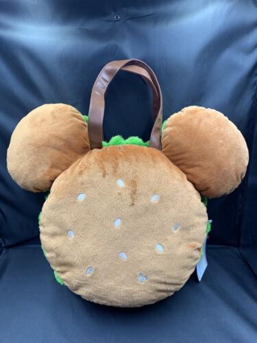 Tokyo Disney Mickey Mouse Hamburger Tote Bag  Mickey Burger