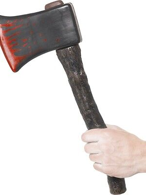 Halloween Fancy Dress Fake Axe with Blood effect Horror Hatchet by Smiffys New