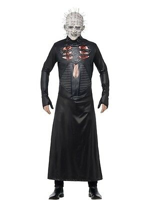 Official Pinhead Hellraiser Fancy Dress Costume Halloween Horror Size M