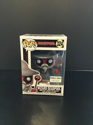 Deadpool Wizard Deadpool Barnes and Noble Exclusive Funko Pop Vinyl Figure #324