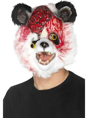 SMI - Kostüm Zubehör Maske Zombie Panda Bär - Zombie Panda Bär Kostüm