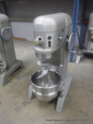 Hobart H-600t Pizza Donut Pizza Dough Mixer 60 Qt W Bowl Hook