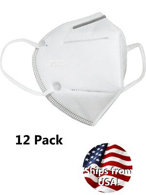 Dozen Kn95 Masks Rated Particulate Protective Respirators Without Exhalation