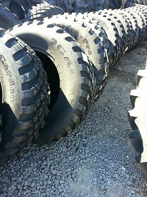 Two New 38070r24 Radial John Deere Ford Turf Field Lug Tractor Tires
