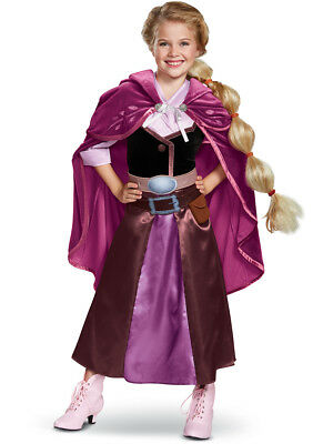 Girls Disney Tangled The Series Rapunzel Outfit Deluxe Costume