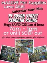 MASSIVE Pet Supplies Lawn Sale Ipswich Ipswich City Preview