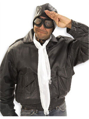 New Aviator Pilot Costume Goggles and Helmet Hat Set](Aviator Goggles And Hat)