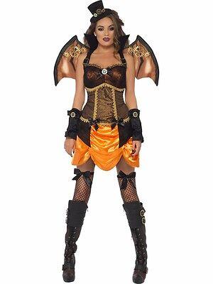 Damenoutfit Steampunk Sexy Bat Fledermaus Kostüm Ladys Vampirin - Sexy Steampunk Kostüme