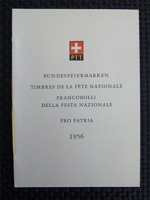 SCHWEIZ 627/31 PRO PATRIA AMTLICHES GESCHENKHEFT GIFT BOOKLET RARE! c5631