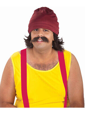 Cheech and Chong Adult Cheech Marin Costume Accessory Kit - Chong Halloween Costume