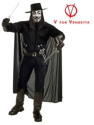 Adult V for Vendetta Guy Fawkes Costume](Adult Guy Costumes)