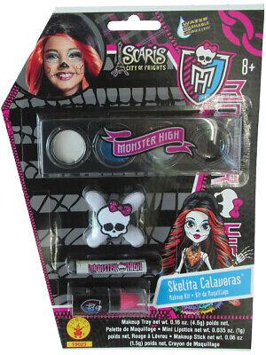 Skelita Calaveras Costumes (Deluxe Monster High Skelita Calaveras Costume Accessory Makeup)