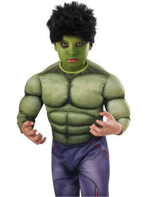 Kids Black Wig (Childs Boys Hulk Avengers Black Wig Costume)