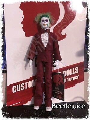 Halloween Horror Dolls (SALE! Beetlejuice CUSTOM HORROR DOLL OOAK Action Figure)