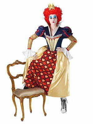 Alice im Wunderland - Die Rote Königin - Kostüm Karneval Fasching - S -