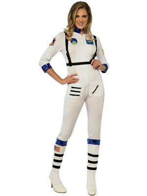 Space Costumes Women (Women's Space Recruit Astronaut Moon Walk)