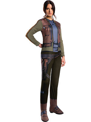 Adult's Womens Star Wars Rogue One Jyn Erso Rebellion Rebel Costume