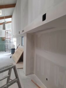 Professional mudding/ Taping/ Plastering/ Install drywall