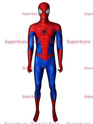 Spider-Man Suit PS4 Classic Spiderman Cosplay Costume For - Classic Spiderman Suit