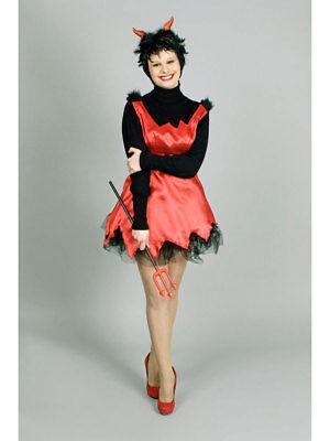 Kostüm für Erwachsene Schürze Teufel Karneval Kostüm ()