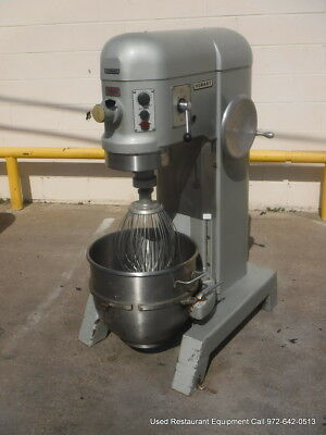 Hobart H-600t Bakery Donut Pizza Dough Mixer 60 Qt W Bowl Whip