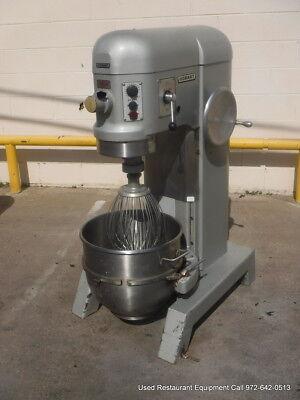 Hobart H-600t Bakery Donut Pizza Dough Mixer 60 Qt W Bowl Whip
