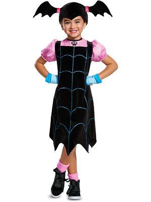 Disney Costumes Teens (Girls Disney Vampirina Web Dress Classic)