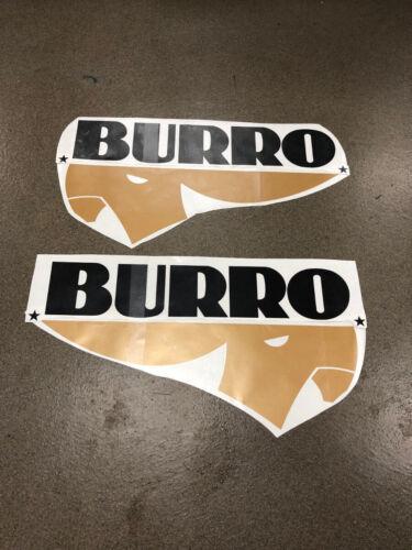 Photo Decals for Fiberglass Burro Camper Travel Trailer Stickers UHaul Scamp Casita