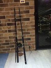 2.40m fishing rod + Alvey 455BXL reel + 2 floats + free bonus Wyoming Gosford Area Preview
