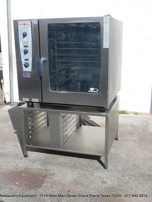 Rational Cmp102 Electric Combination Ovensteamer With Stand - Year 2012