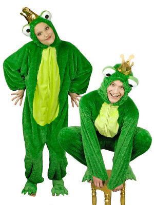 Kostüm für Erwachsene Overall Froschkönig Karneval Kostüm