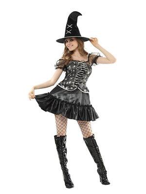 Kostüm superluxe Halloween Hexe Spider Sweetie Karneval Fasching (Sweetie Kostüme)