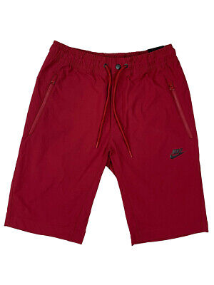 Nike Mens Standart Fit at Knee Length Advance Woven Short Red New (Fit Knee Short)