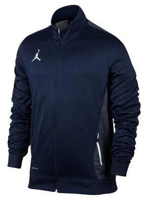 Nike Air Jordan Mens Flight Team Warm Up Training Jacket Navy 696736 419 New