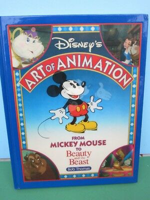 Disney's ART Of ANIMATION HC Book #1 Mickey to Beauty & Beast- Lenticular Cover
