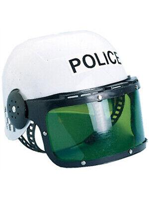 New Child Costume Police Motorcycle Cop Helmet & Visor](Motorcycle Cop Costume)