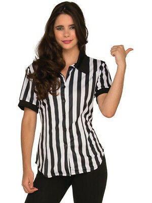 Referee Costumes (Women's Fitted Football Referee Shirt)