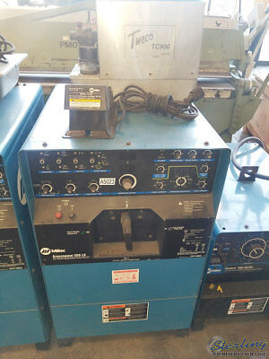 400 Amp Used Miller Syncrowave Tig Welder Mdl. Syncrowave 350 Lx A5023