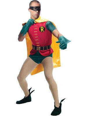 Adult Mens Classic Grand Heritage Burt Ward Batman Robin 1966 Costume Large 44
