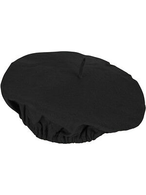Adults Suave Black French Mime Artist Beret Hat Costume Accessory - French Beret Costume